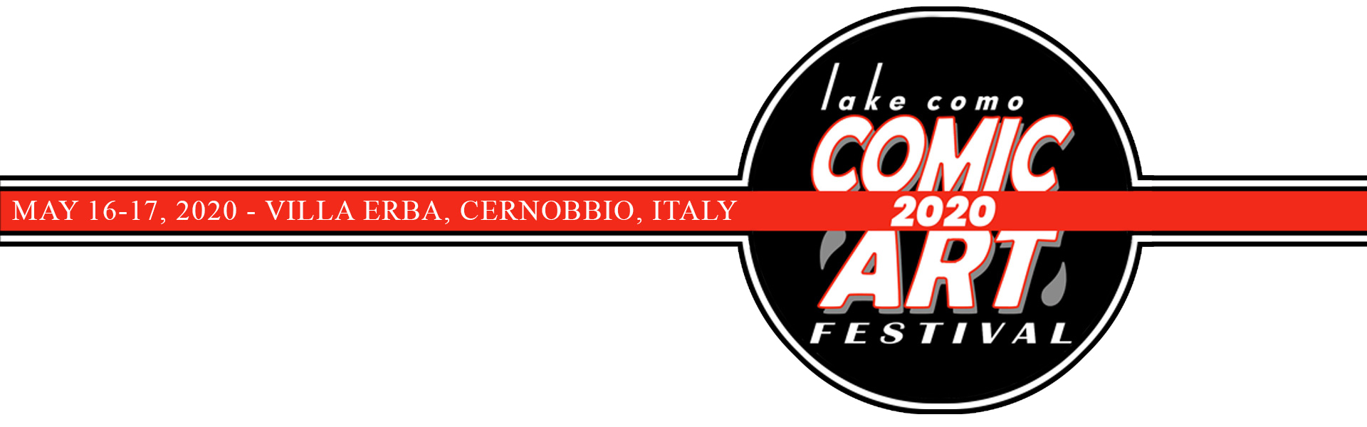 Lake Como Comic Art Festival Logo