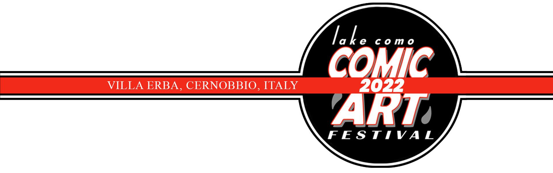 Lake Como Comic Art Festival Logo